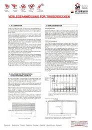 Verlegeanleitung als PDF-Datei!