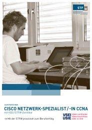 cisco netzwerk-spezialist / -in ccna - Schweizerische Technische ...