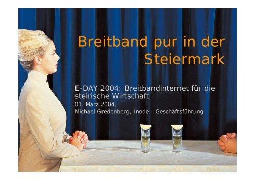 Breitband pur in der Steiermark