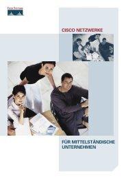für mittelständische unternehmen cisco netzwerke - Cisco Systems, Inc