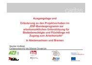 Vortrag IQ-ESF-Projekte 04.06.2012 - Regionales Netzwerk ...