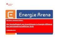 Die Sinnhaftigkeit von Investitionen in Energieeffizienz aus ...