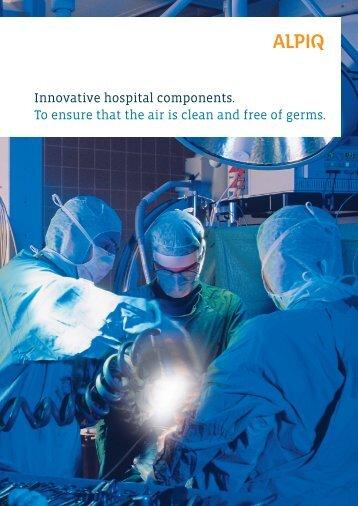 hospital components: brochure PDF - Alpiq Intec Schweiz