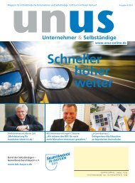 unus - Bund der Selbständigen (BDS) - Gewerbeverband Bayern eV