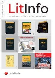 Frühjahr/Sommer 2012 - LexisNexis ARD Orac