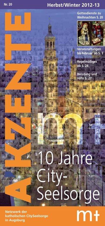 Akzente Herbst und Winter 2012/2013 - Moritzkirche