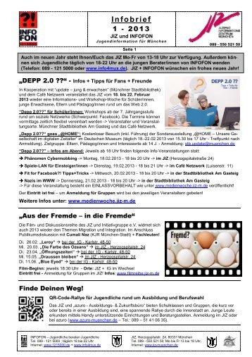 Infobrief 1 - 2013 - JIZ