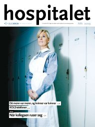 Hospitalet 2009 Nr 1.pdf - Helse Bergen