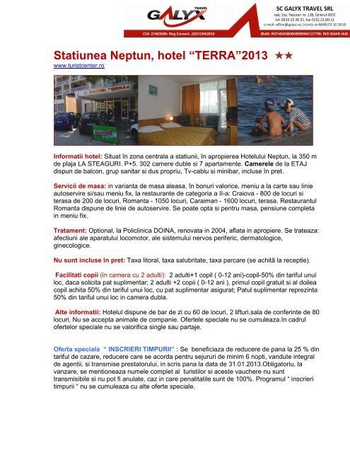 """Statiunea Neptun, hotel """"TERRA""""2013"""