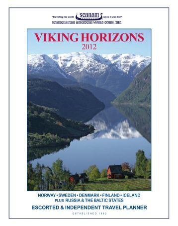 escorted & independent - Scandinavian American World Tours