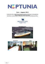 Grimaldi Lines EURO Aegean 2012