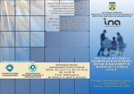 INA oferă cursuri practice de formare şi perfecţionare pentru ... - Falr