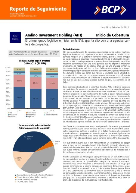Andino investment holding gestion de riesgos margin call forex adalah ialah