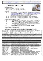 Dr. Constantin Munteanu - Asociatia Romana de Balneologie