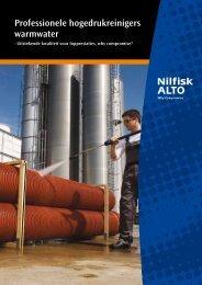 Professionele hogedrukreinigers warmwater - Nilfisk-ALTO