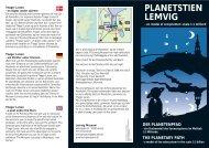 Folder med kort - Planetstien