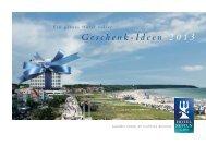 Geschenk-Ideen-Broschüre - Hotel Neptun