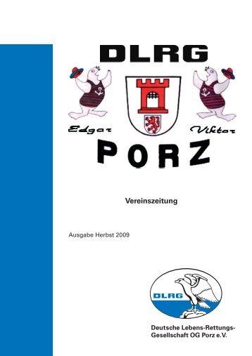Vereinszeitung - Ortsgruppe Porz - DLRG