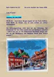 Nr.012 - Dienstag, 06. Mai 2008 Die erste - big-max-web.de