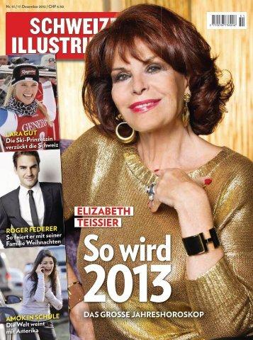 Die Star-Astrologin sagt, wer 2013 zu den ... - Elizabeth Teissier