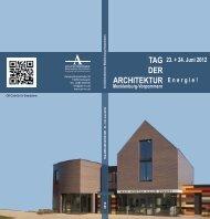 Broschüre zum Download - Jens Rupprecht, Architekt