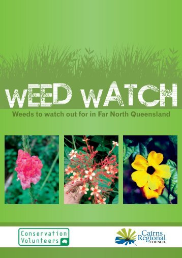 53370 - CRC A5 Weed Watch Book.cdr - Cairns Regional Council