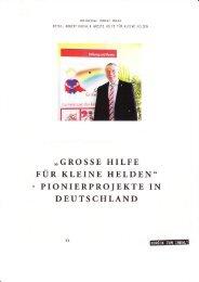 Interview mit Ralf Klenk - Große Hilfe für kleine Helden