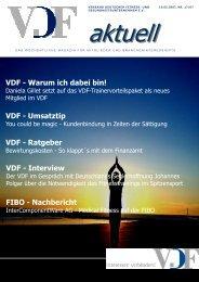 VDF aktuell Nr.17, 16.05.07