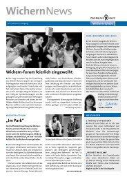WichernNews 02/2011 - Wichern-Schule