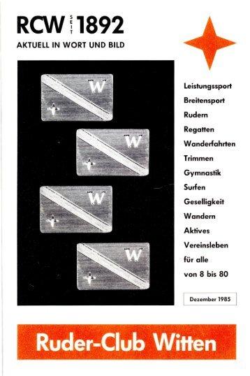 RCW11892 Ruder-Club Witten - Ruder-Club Witten eV