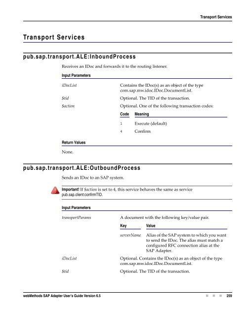transaction guide sap
