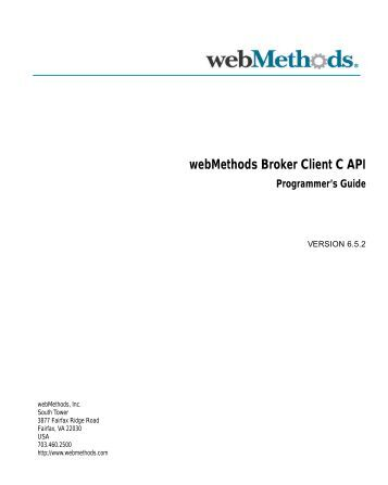 webMethods Flat File Schema Developer's Guide - Software AG