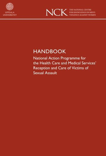 NCK - Handbook - National Action Programme for the Health Care ...