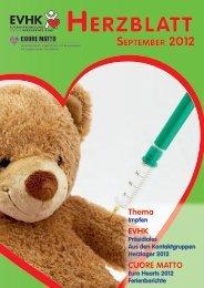 Impfumfrage - Elternvereinigung für das herzkranke Kind
