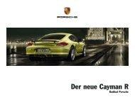 Download Cayman R Katalog - Porsche