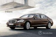 Broschüre der S-Klasse herunterladen (PDF) - Mercedes-Benz ...