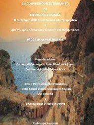 Programma - Centro di Ricerche in Bioclimatologia Medica ...