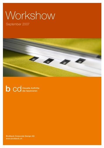 Download PDF - Brotbeck Corporate Design AG