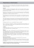 VOLA Vedligeholdelse VOLA Maintenance VOLA Pflegehinweise - Seite 6