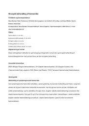Kirurgisk behandling af hæmorider - Dansk Kirurgisk Selskab