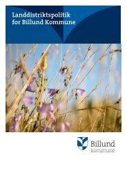 Landdistriktspolitik for Billund Kommune