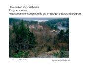 Hamnviken i Nynäshamn Programsamråd ... - Nynäshamns kommun