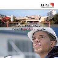 Unser Unternehmen - B+S AG