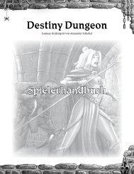 Destiny Dungeon Spielerhandbuch