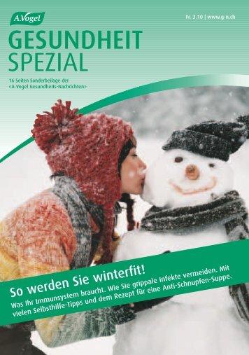 GESUNDHEIT SPEZIAL - Verlag A.Vogel AG