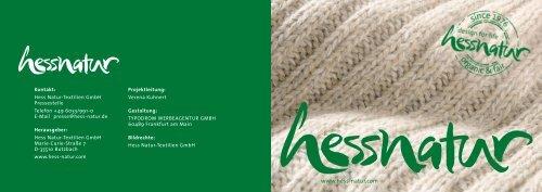 Download (pdf-Datei, 771 kb) - Hessnatur