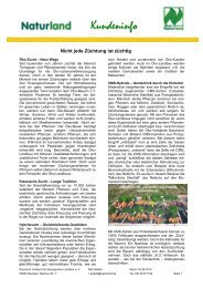 Züchtung (pdf-Datei, 276 KB) - Naturland