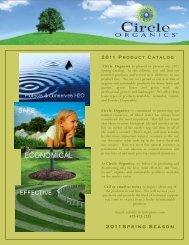Circle Organics Product Catalog