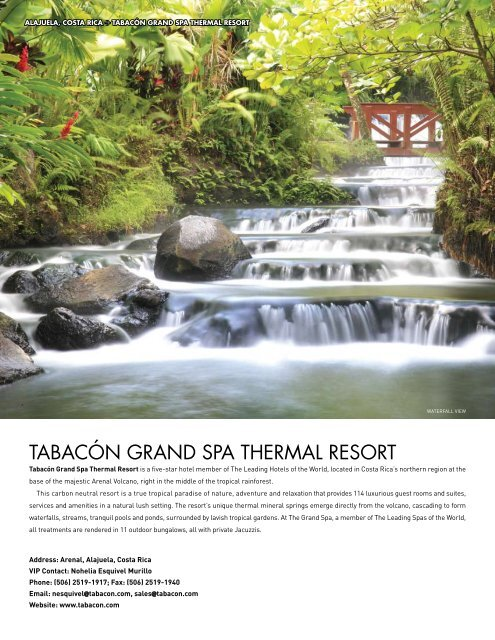 TABACóN GRAND SPA THERMAL RESORT - Elite Traveler