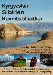 Kyrgyzstan - Exkursion - Central Asia Expeditions